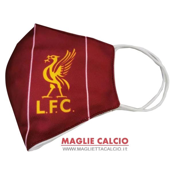 maschera futbol liverpool asciugamano rossoNuova
